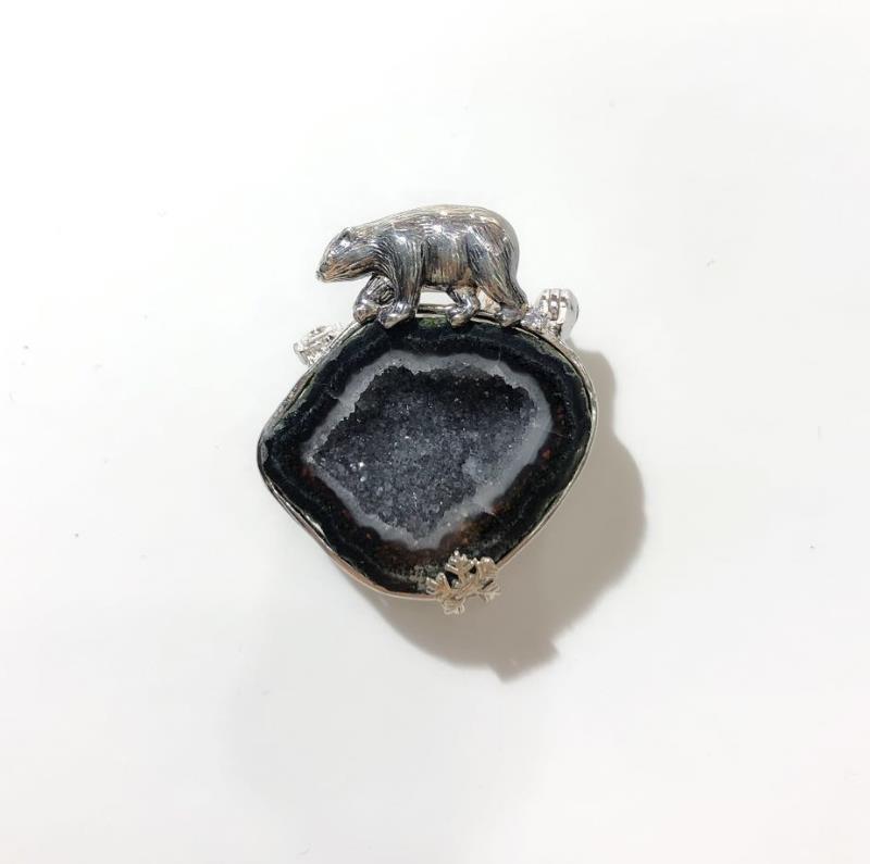 INATURE 925 Plata de Ley ágata Natural lindo Animal colgante collar para mujer amigo regalo-in Collares from Joyería y accesorios    2