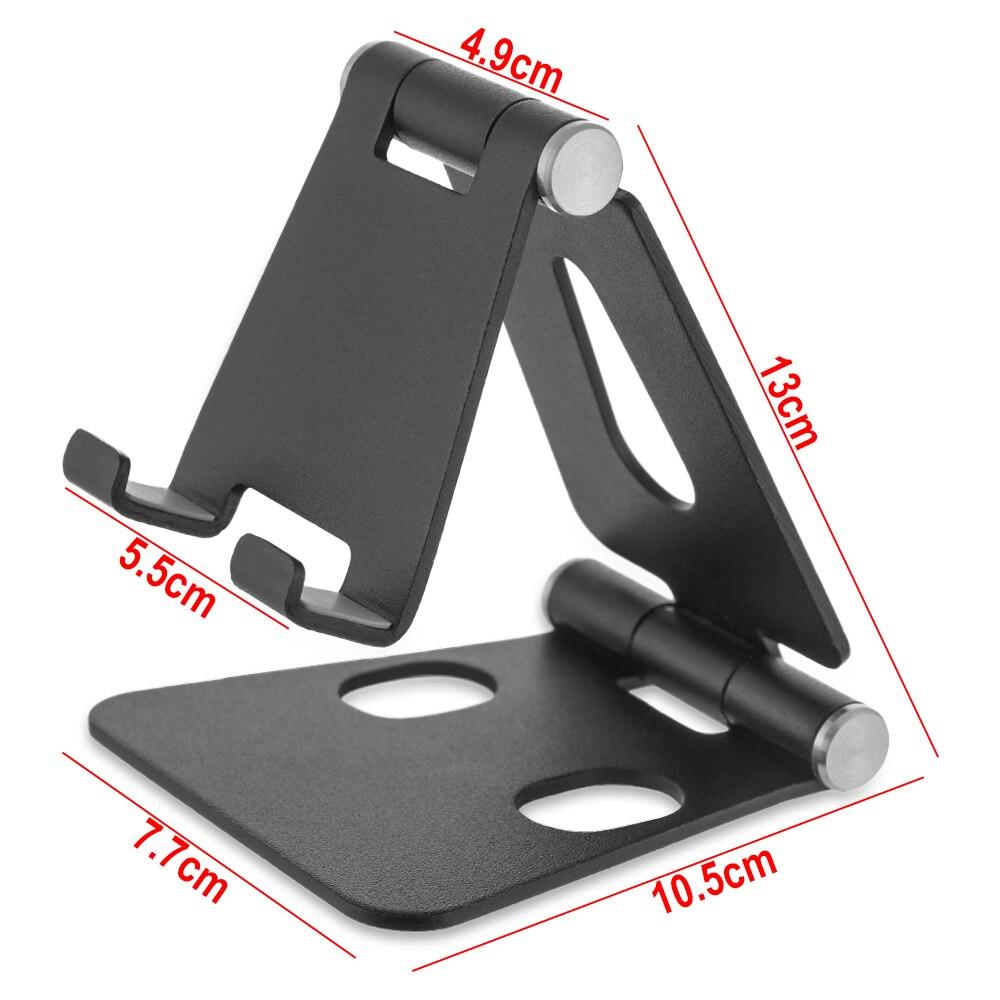 Suporte do telefone universal e-reader tablet titular liga de alumínio desktop suporte do telefone móvel para iphone ipad samsung huawei xiaomi 6