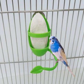 Dozownik pokarmu dla papug ze stelaż stojący uchwyt na warzywa owocowe plastikowy pojemnik na jedzenie wiszące akcesoria do klatek artykuły dla ptaków domowych tanie i dobre opinie OOTDTY Z tworzywa sztucznego CN (pochodzenie) Ptaki app 11x5 5cm 4 33x2 17in Green A B 1 Pc