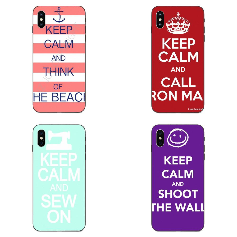 Keep Calm And Sew On Coque Shell Phone Case For Xiaomi Mi Mix Max Note 2 2S 3 5X 6 6X 8 9 SE A1 A2 Lite Play Pro F1