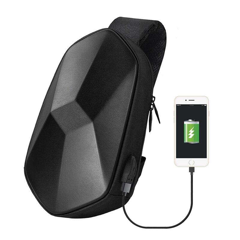 Xiaomi Sling Bag Tajezzo Polyhedron Chest Bag Waterproof Shoulder  Bag Sports Chest Pack For Mens Women Travel Camping CrossbodySmart  Remote Control