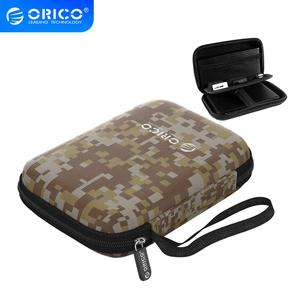 ORICO Earphone Bag 2.5 Inch Protection Case for External Portable HDD Box Case USB Charger USB Cables Power Banks Earphones More(China)