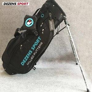 Женская сумка для гольфа DEZENS, новая модная стандартная сумка для гольфа небесно-голубого цвета, роскошная сумка для гольфа, сумка для штатив...