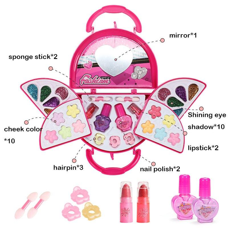 Mädchen Make-Up Set Prinzessin Kosmetik Make Up Set Für Kinder Pretend Spielen Machen Up Spielzeug Für Kinder Kinder Prinzessin Kleid up Prinzessin