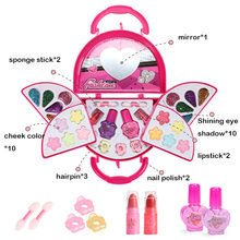 Girls Makeup Set Princess Cosmetics Make Up Set For Kids Pretend Play Make Up Toys For Children Kids Princess Dress Up Princess
