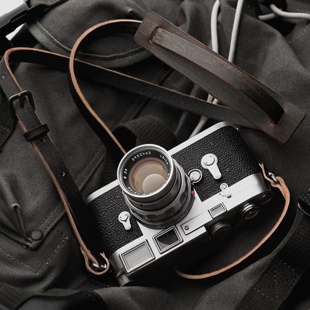 Mr.石ハンドメイド本革カメラストラップカメラショルダー (ヴィンテージ才)