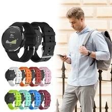Ремешок для часов, ремешок с принтом, регулируемые силиконовые наручные часы, Сменные аксессуары