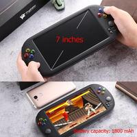 X16 7 Inch Game Console Handheld Portable 8GB Classic Video Game Players