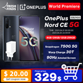 OnePlus Nord CE 5G EB2103 Смартфон 8 ГБ 128 ГБ и 12 ГБ 256 ГБ Snapdragon 750G Warp Charge 30T Plus 90 Гц AMOLED OnePlus Official Store; код: OTPUSK(P19000-1500) ZAGAR(P12000-1000)