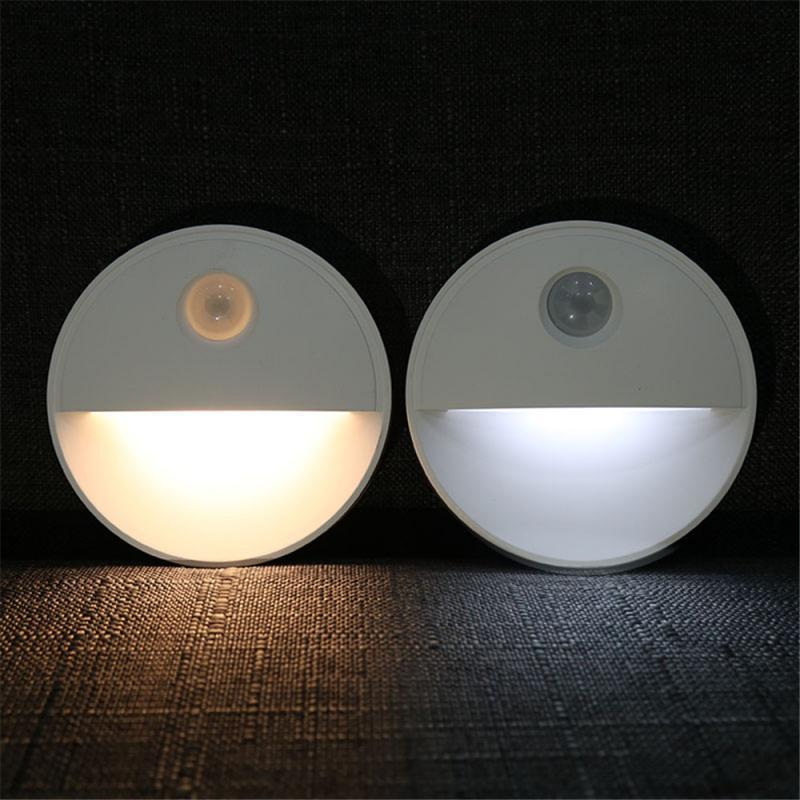 LED Smart Night Light 0.5W Intelligent Recognition Low Power Energy Saving Lighting Light Sensor Nightlight For Home Lighting