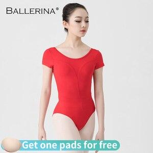 Image 1 - Leotardos de Ballet para las mujeres Yoga baile Sexy formación profesional gimnasia Impresión Digital impresión Leotardos de baile de pescado de belleza de 5648