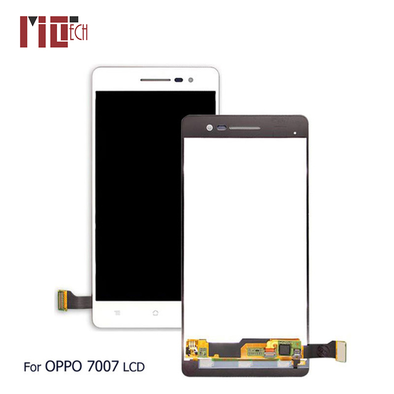 LCD Display For OPPO R3 R7007 7007 Touch Screen Digitizer Full Assembly Replacement Parts White No Frame 5.0 inch 1280x720