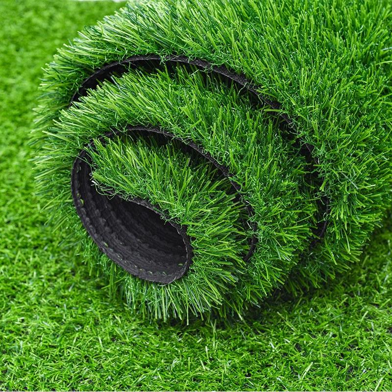 Custom Artificial Lawn Green Garden Decoration Outdoor Indoor Grass Fake Lawn Plant Lawn
