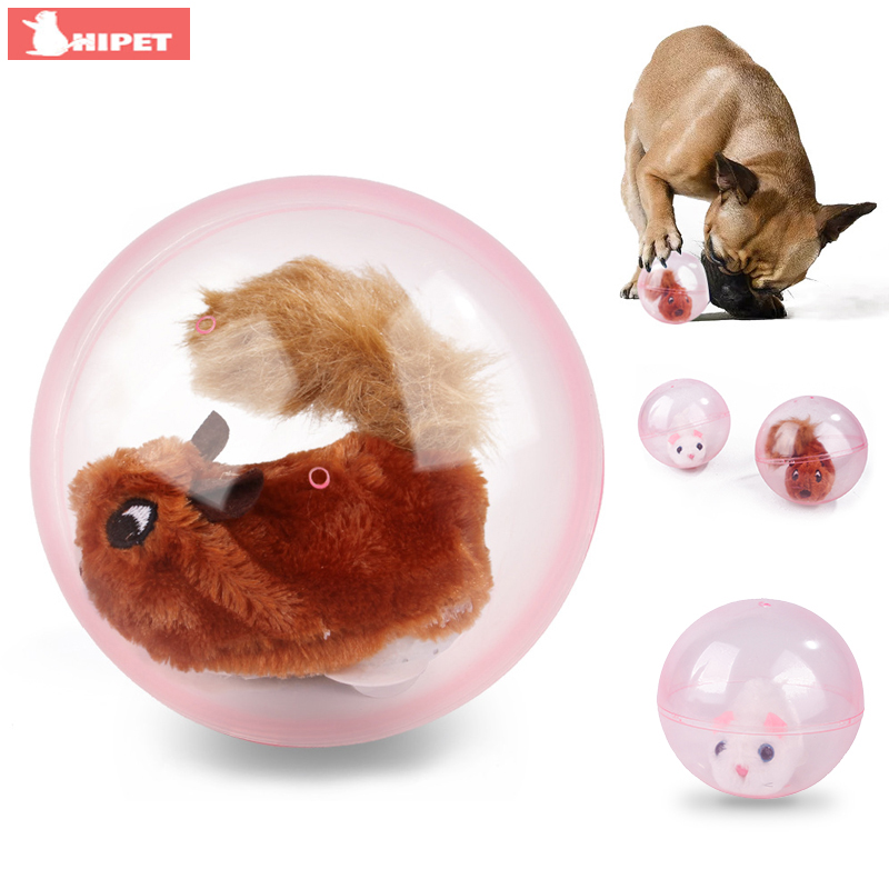 Interactive Pet Cats Dogs Toys Electric Rolling Ball Toys for Dog Cat Funny Automatic Bite Resistant Small Large Dogs Ball Toy