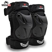 Wosawe motocicleta elbowpads e joelheiras de esqui snowboard voleibol hóquei no joelho guarda braço protetor engrenagem adulto