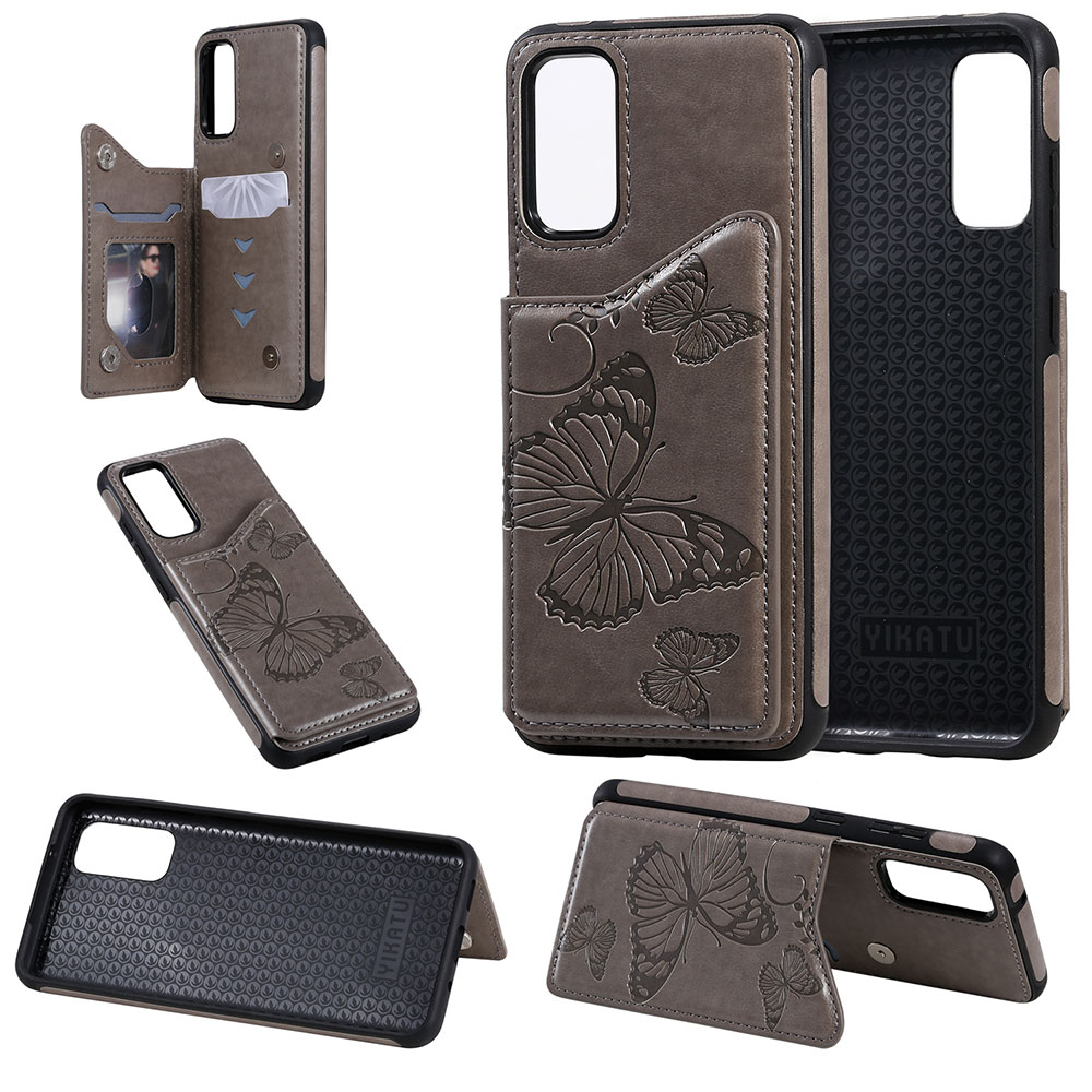 KISSCASE Butterfly <font><b>Leather</b></font> <font><b>Flip</b></font> <font><b>Case</b></font> For <font><b>iPhone</b></font> 8 Cover <font><b>7</b></font> 6 11 XR XSMAX 11PRO MAX Book Cover For <font><b>iPhone</b></font> 11PRO Shockproof Fundas image