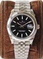 Роскошные брендовые новые автоматические механические мужские часы Datejust из нержавеющей стали Сапфировое серебро зеленый черный синий сер...