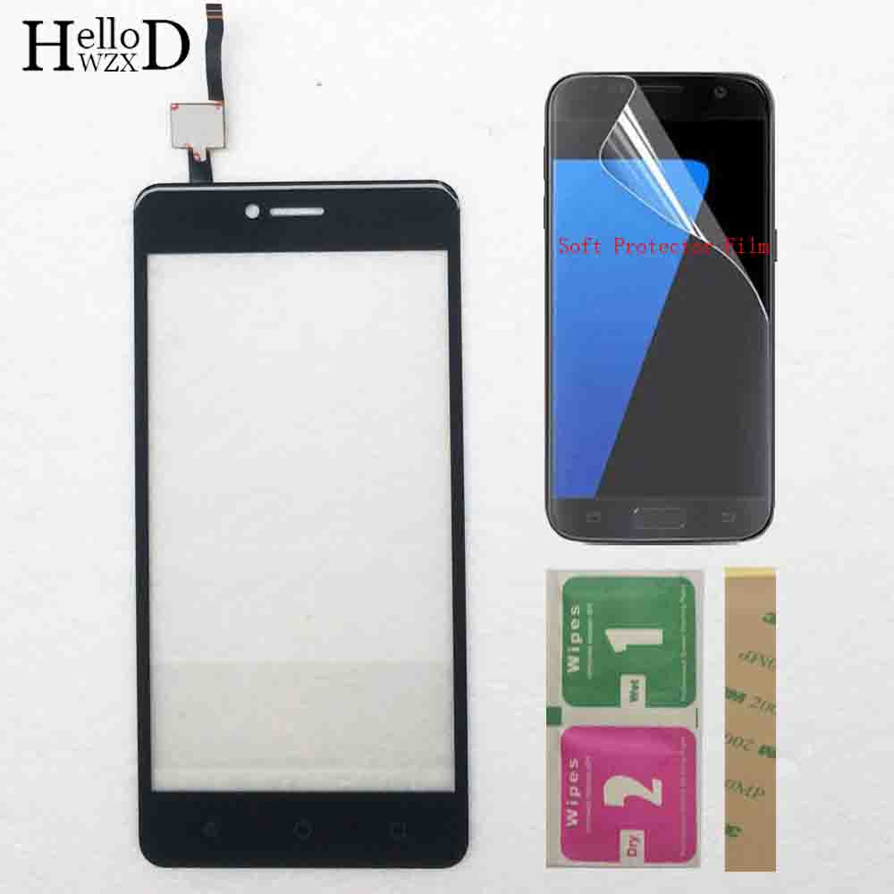 Touch Screen Panel For DEXP Ixion ML450 ML 450 EL450 ML350 Touch Screen Digitizer Front Glass Replacement 3M Glue Protector Film