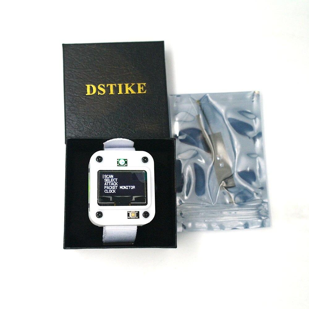 Dstike deauther relógio v2 esp8266 placa de