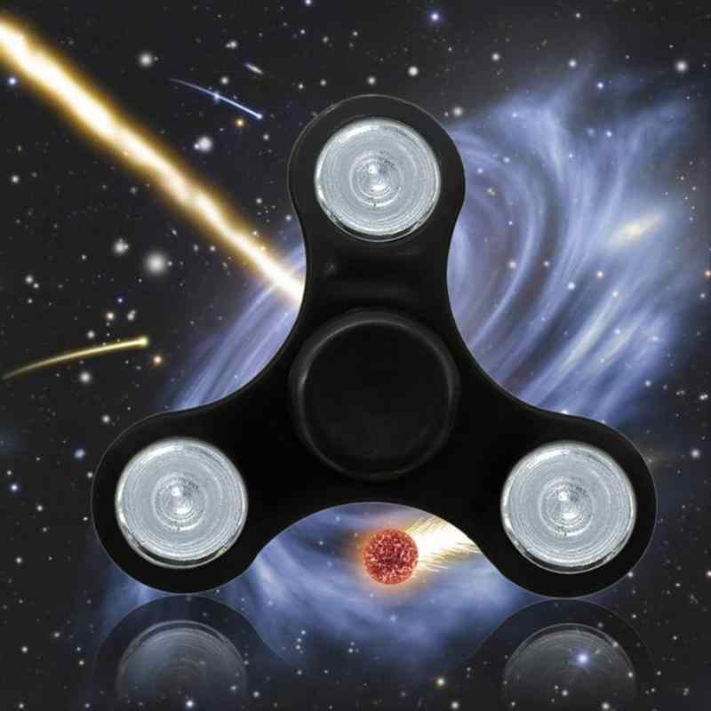 Łożysko z tworzywa sztucznego tri-spinner ABS EDC ręcznie Spinner dla autyzmu ADHD fidget Spinner anty stres zabawki dla dzieci długie czasy wirowania