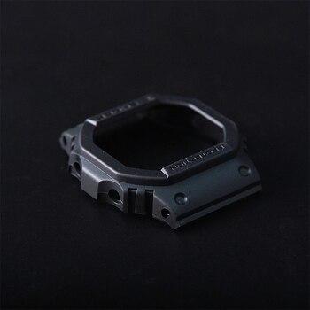 Replacement for DW-5600/GW-5000/GW-5035 Matte Black BEZEL Case Shell - discount item  6% OFF Watches Accessories