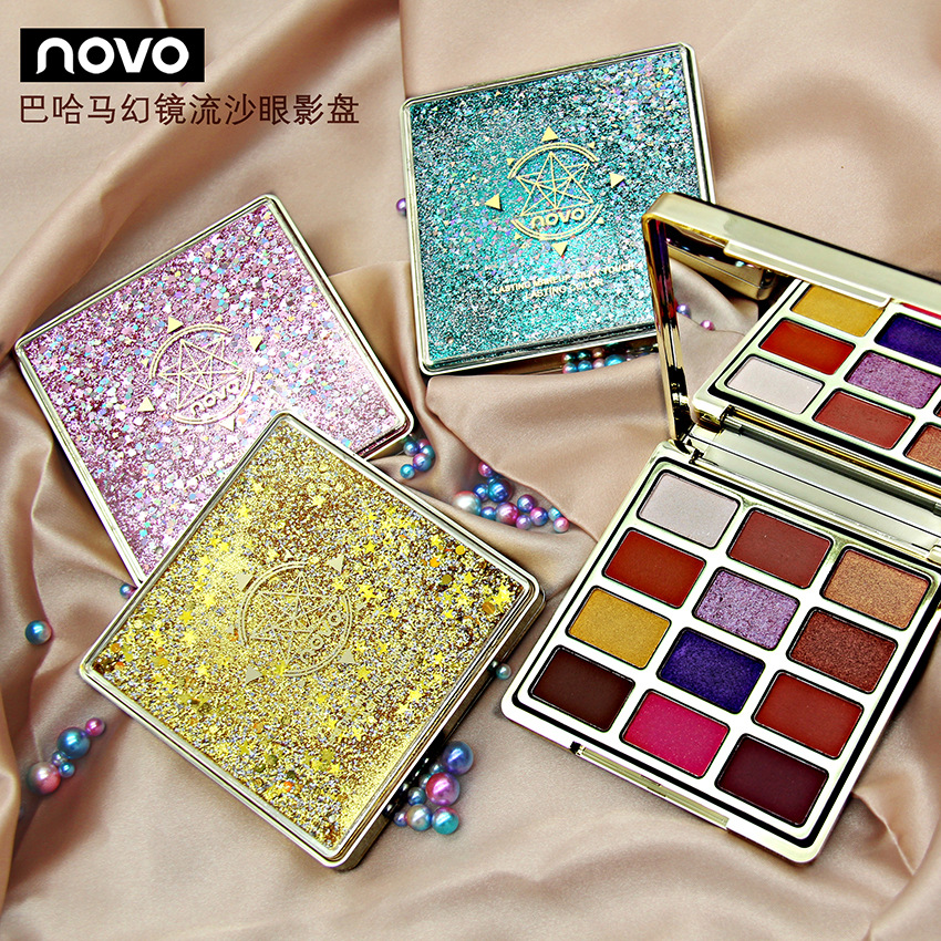 Twelve Color Eyeshadow Compact Beginners Urban Decay Pessimistic Makeup 12 Color Eye Shadow
