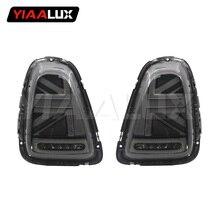 YIAALUX Новое поступление Union Jack светодиодный задний фонарь для BMW MINI R56 Uj Стильные черные красные задние фонари до-2013 года