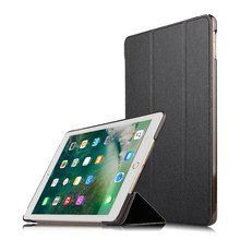 Para o iPad 9.7 2018 2017 Tampa Do Caso para o iPad Ar 2 Ar Caso 1 6 5 5th 6th Geração Funda virar capa de Couro Inteligente Suporte Magnético Shell