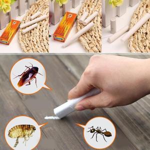 Image 2 - 2 teile/paket Magie Insekten Stift Kreide Werkzeug Töten Kakerlake Kakerlaken Ant Läuse Floh Bugs Köder Lockt Schädlingsbekämpfung Insecticida