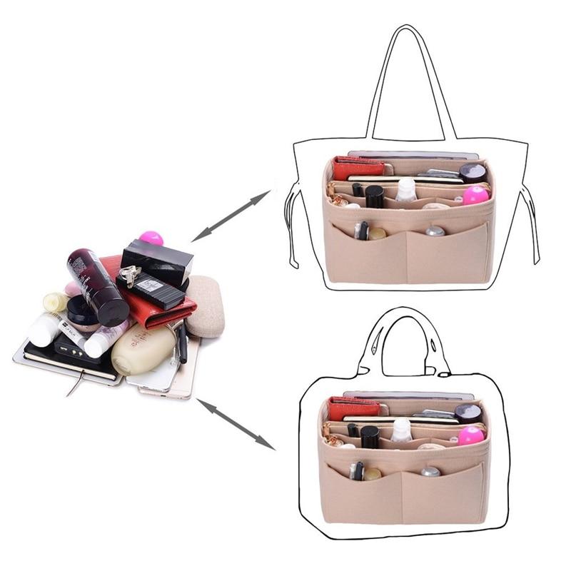 New-Popular-Women-s-Makeup-Organizer-Felt-Cloth-Insert-Bag-Multi-functional-Travel-Cosmetic-Bag-Girl (2)