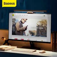 Baseus Led Schreibtisch Lampe Einstellbar Lesen Bildschirm Hängen Licht Computer Augenschutz Lampe USB Aufladbare Licht für Office Home