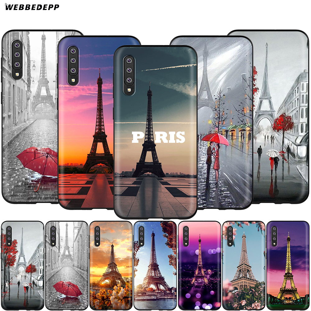 Paris Eiffel Tower France Case For Samsung Galaxy S7 S8 S9 S10 Plus Edge Note 10 8 9 A10 A20 A30 A40 A50 A60 A70