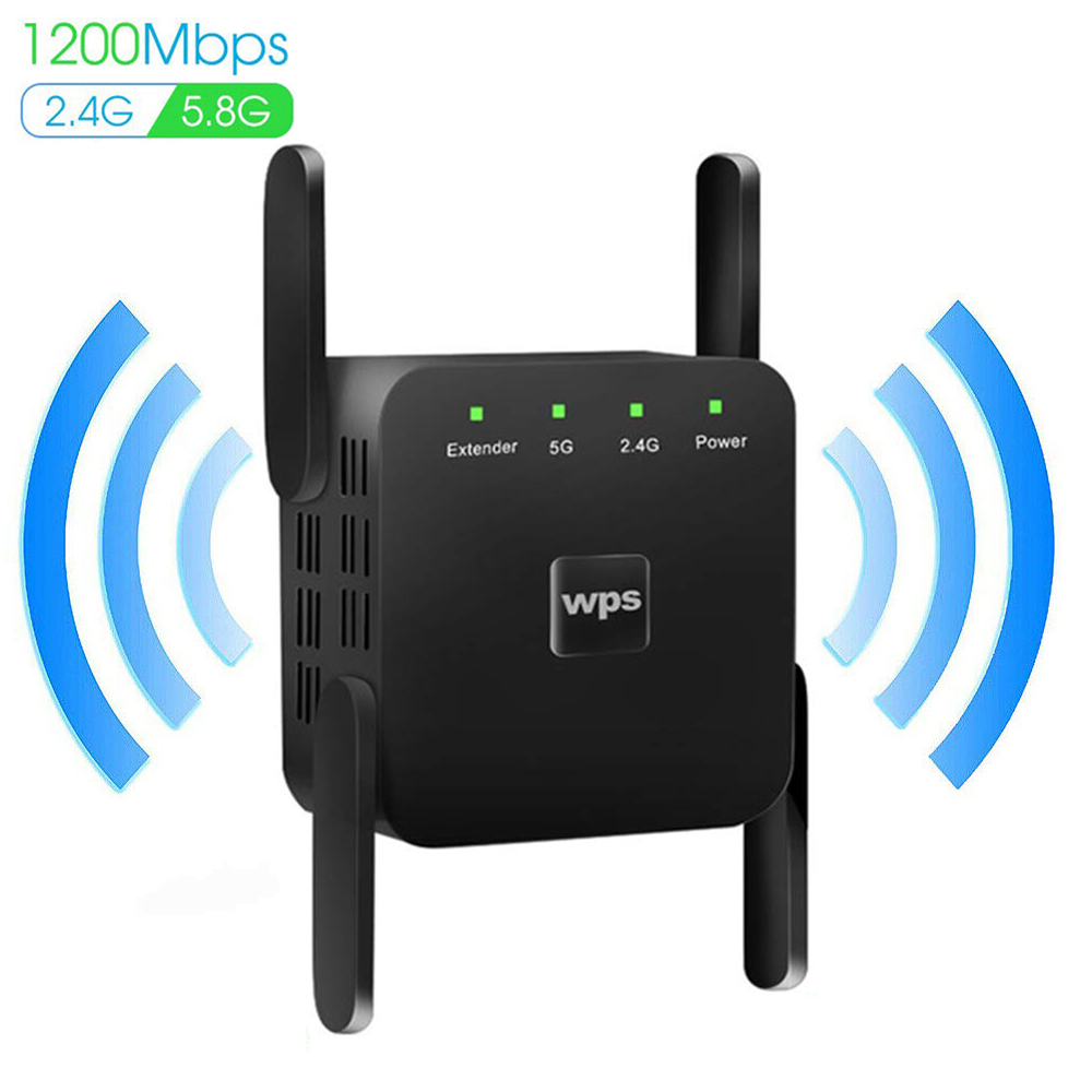 WiFi Router Repeater 300/1200Mbps Wi-Fi Extender 2.4G/5G Wireless WiFi Booster Wi Fi Amplifier 5Ghz Network Signal Repeaters