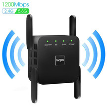 Wifi Router Repeater 300/1200Mbps Wifi Extender 2.4G/5G Wireless Wifi Booster Wi Fi Versterker 5Ghz Netwerk Signaal Repeaters(China)