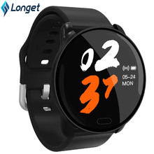 Longet Newest K9 SmartWatch Color Touch Screen with Heart Rate Activity Tracking Message notification Sport Bracelet for Running