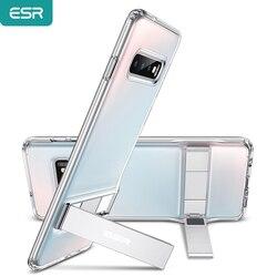 Etui na telefon ESR do Samsung S10 e S10 S10 Plus z metalową podstawką odporną na wstrząsy TPU etui na Samsung S10 Plus Coque