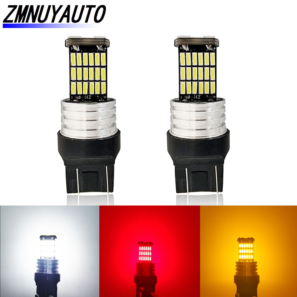 Fog Lamps  Red 5730 T20 W21//5W 7443 Car Backup Reverse Light 33SMD LED Bulbs