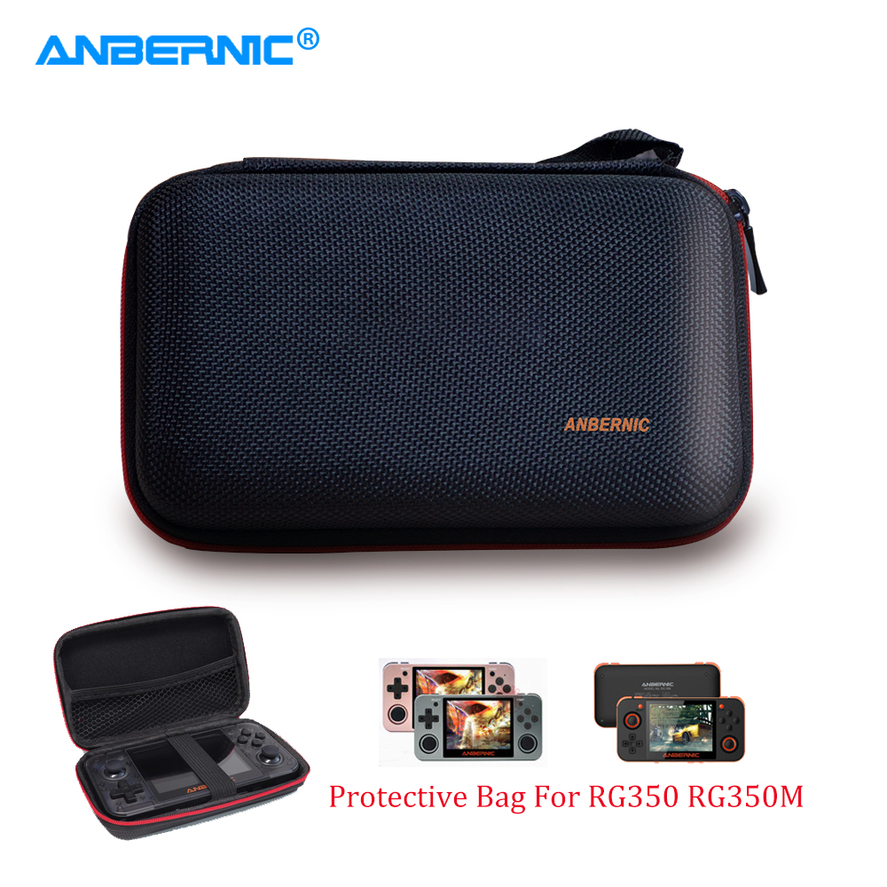 ANBERNIC - RG350 RG350M Bag Protection Case for Retro Game RG350P RG351P Console Game Player Handheld Portable Accessory Shell