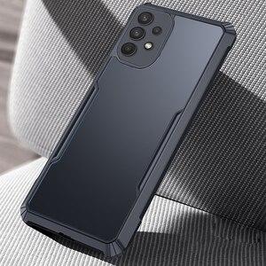 Image 3 - Pour Samsung Galaxy A32 4G 5G Antichoc de Luxe Cadre Clair Étui de Téléphone Pour Samsung A32 32 a32 4g 5g Transparent Airbag Arrière