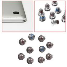 2020 New 10pcs Screws For MacBook Pro Retina 13.3 inch 15.4 inch A1502 A1425 A1398 Bottom Back Case Cover Screws(China)
