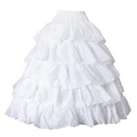 Bridal Shower Petticoat Skirt Wedding Dress Half Slip 110cm Wedding Favours