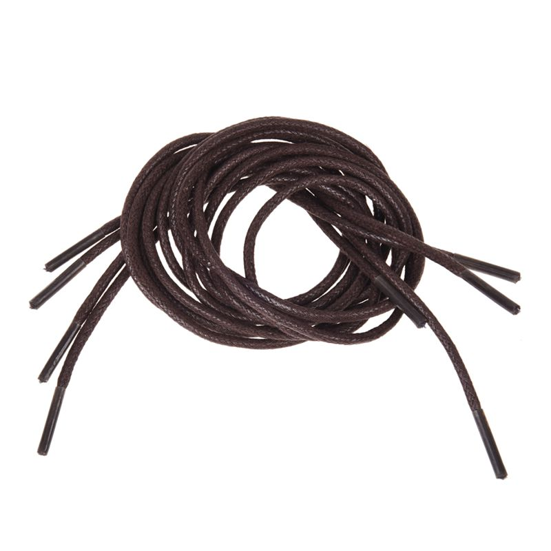4 Pcs 69cm Brown Shoelace Shoestring for Leather Shoes