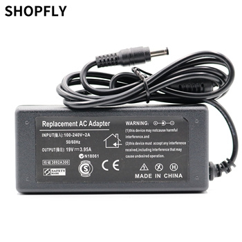 75W 19V 3.95A AC Adapter Charger Power Supply For Toshiba Satellite A200 L300 L305 L450 L350 original power adapter spa040a19w2 for nvidia shield tv pro media server ac adapter power supply 19v 2 1a