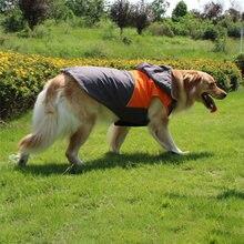 Зимняя одежда для больших собак водонепроницаемое пальто теплая