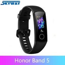 Originele Honor Band 5 Smart Band Bloed Zuurstof Smartwatch Fitness Tracker Amoled Smart Band Hart Rage Ftness Sleep Tracker