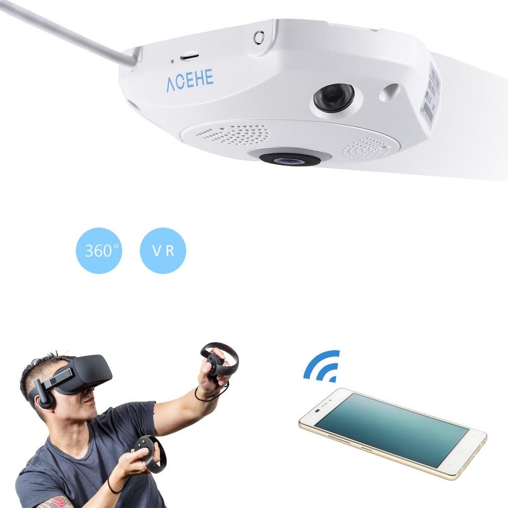 3D VR камера 360 градусов панорамная IP камера 960P 1.3MP для рыбий глаз беспроводная Wi-Fi камера IP SD слот для карты Мульти режим просмотра