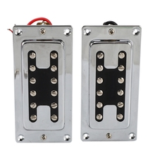 цена на New Hot Double Coil Guitar Sealed Humbucker Pickups Pick-Ups for LP Electric Guitars with Mounting Screws (Pack of 2Pcs)