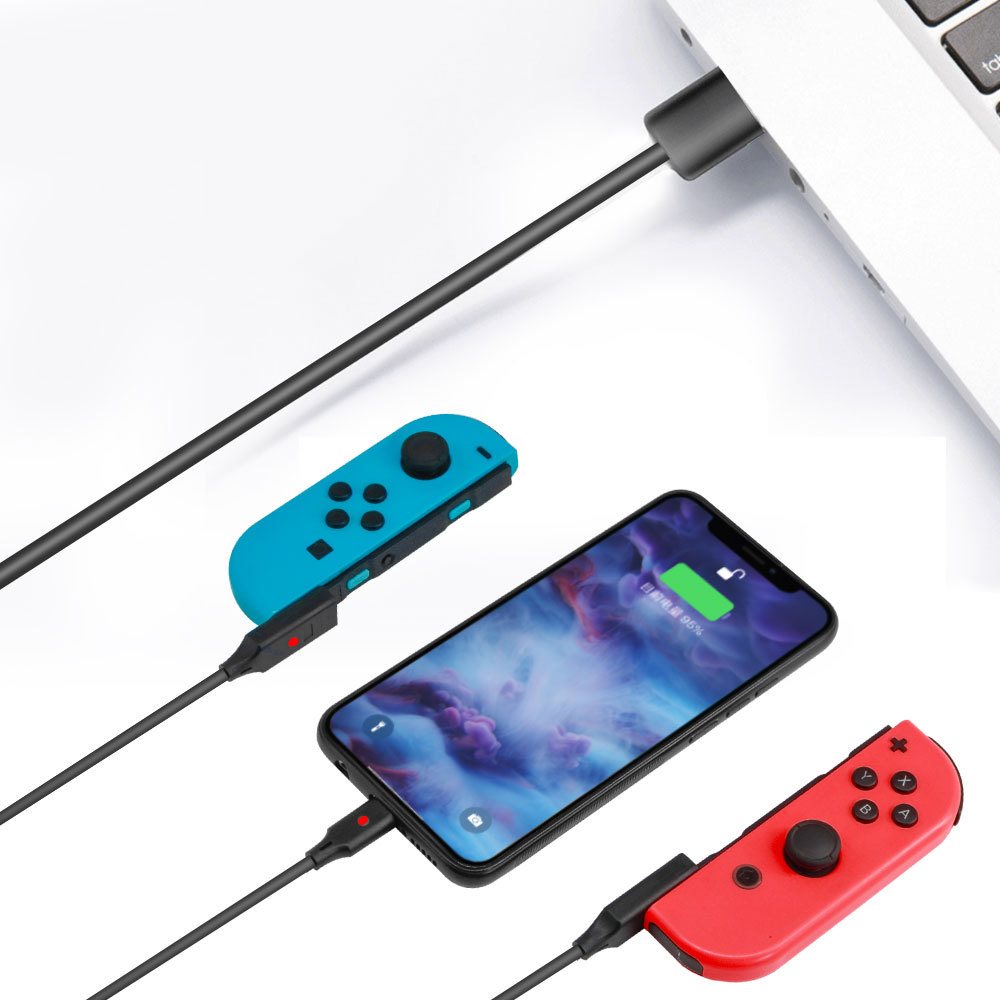 3-in-1 Universal Charging Cable for N-Switch Game Console Gamepad Mobile Phone Data Cable for Huawei P30 P30 Pro Accessories