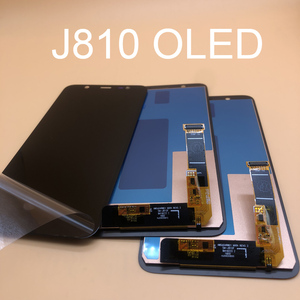 Image 2 - 100%Test OLED Display For Samsung Galaxy J8 2018 J810 SM J810 J810M LCD Screen Replacement Touch Screen Pancel