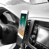 standard wireless charger New Universal Car Magnetic Wireless Charger Magnetic Standard Mobile Holder for IPhone Samsung Huawei Xiaomi (4)